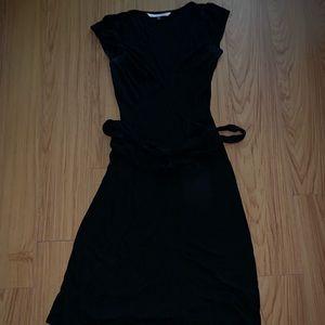 DVF classic wrap dress.